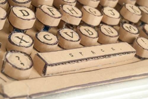 Charlottes typewriter